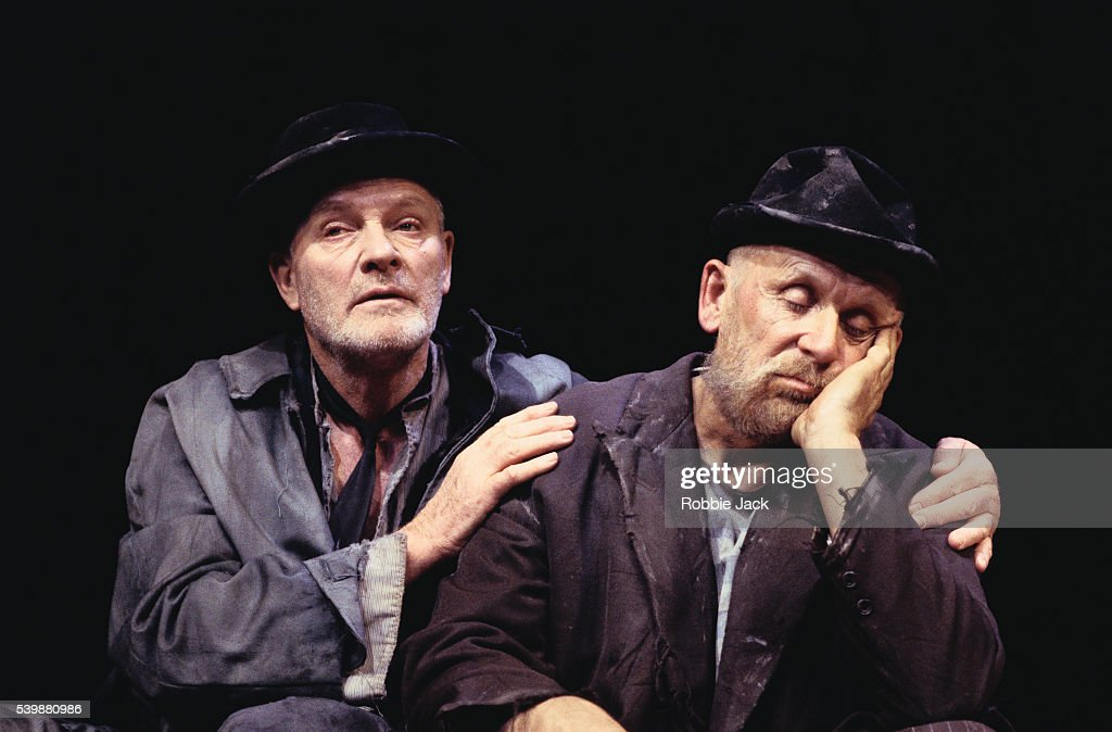 Julian Glover and Alan Doble in Waiting for Godot : News Photo