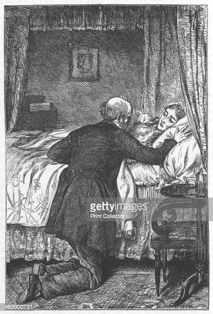 Scene from Scenes of Clerical Life by George Eliot 1883 This series of three tales included 'The Sad Fortunes of the Rev Amos Barton' a poor tactless...