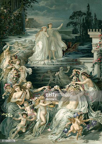 Scene from Shakespeare's A Midsummer Night's Dream