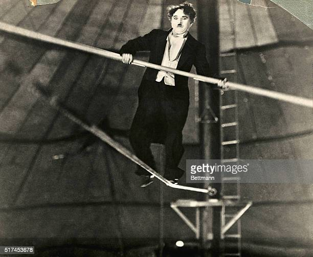 A Scene from the 1928 film The Circus