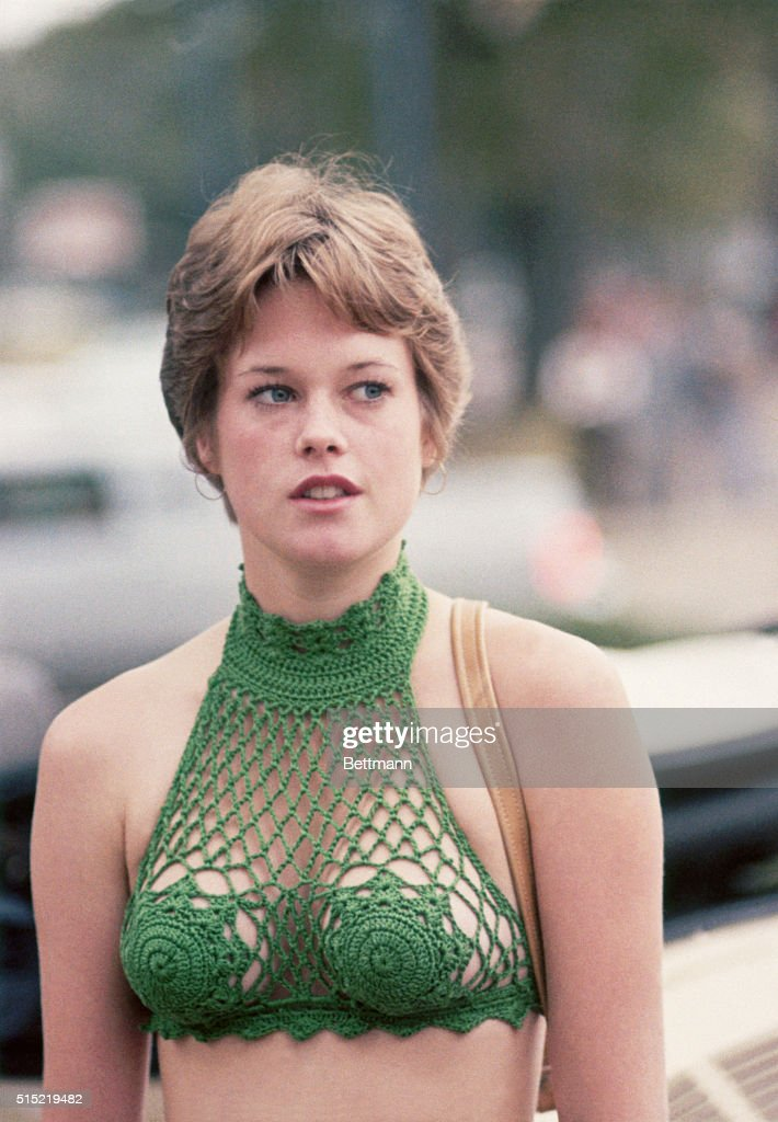 Actress Melanie Griffith in The Drowning Pool : News Photo