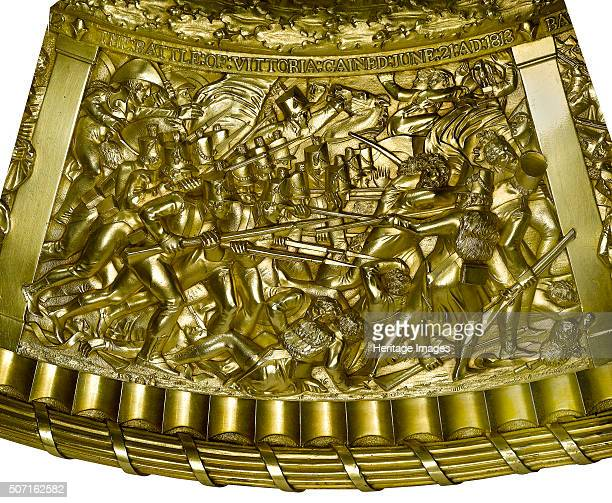 Scene from the Battle of Vitoria 1813 Item from the Wellington Museum depicting the battle of Vitoria Spain during the Peninsular War This is one of...