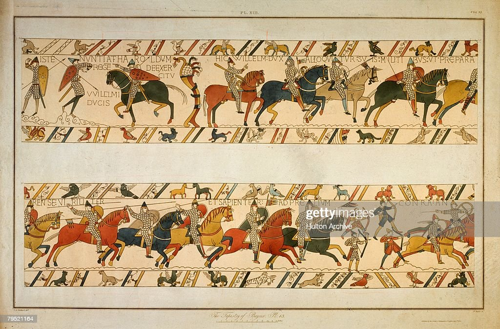 Bayeux Tapestry : News Photo