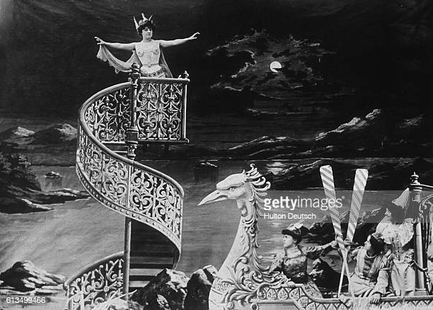 A scene from the film L'Histoire D'Un Crime made by the early French cinematographer Georges Melies