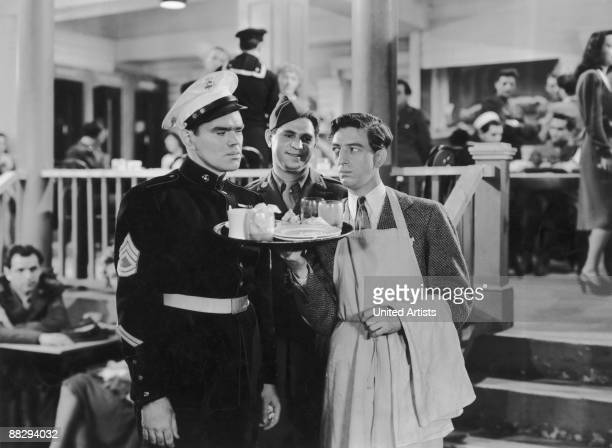 A scene from the film 'Stage Door Canteen' 1943