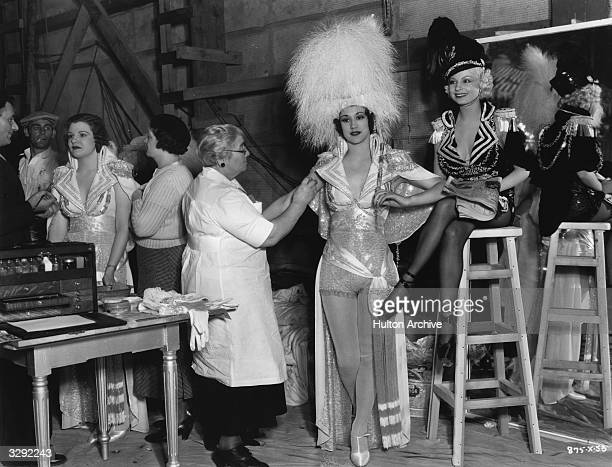 A scene from the film 'The Great Ziegfeld' a biopic of the Broadway impresario Florenz Ziegfeld directed by Robert Z Leonard for MGM
