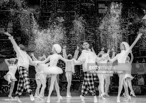 A scene from the final dress rehearsal of choreographer Donald Byrd's 'The Harlem Nutcracker' at the New Jersey Performing Arts Center Newark New...