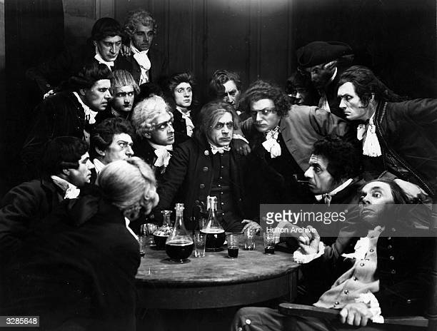 A scene from the German UFA film 'Madame Du Barry' directed by Ernst Lubitsch starring Pola Negri Emil Jannings Harry Liedtke and Reinhold Schunzel...