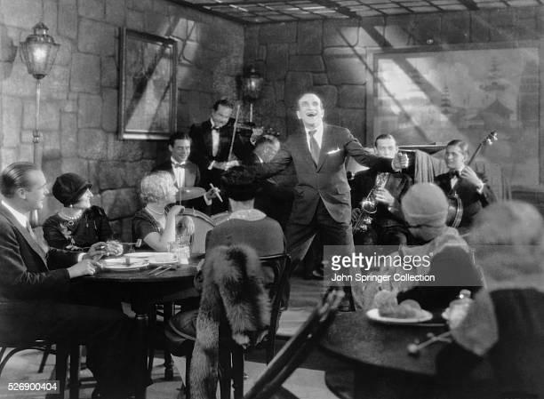 Scene from The Jazz Singer 1927
