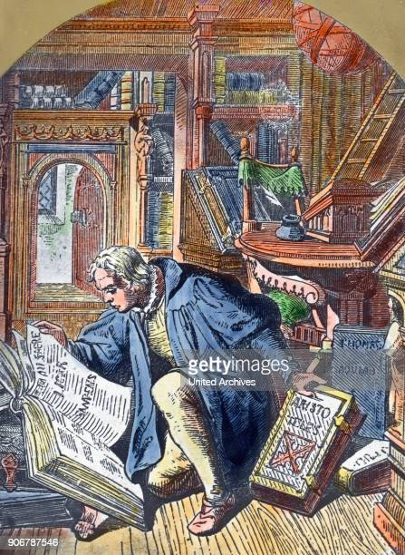 Scene from the life of Protestand reformer Martin Luther