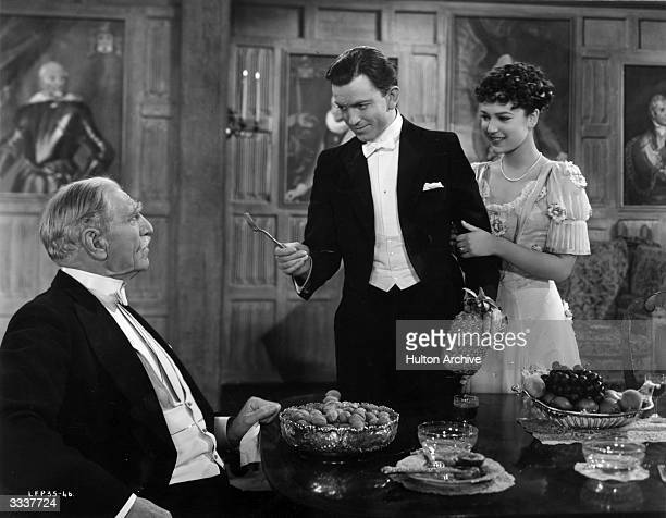 A scene from the London Films production of 'The Four Feathers' starring C Aubrey Smith John Clements and June Duprez