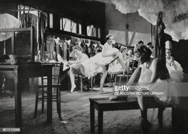 A scene from the movie Ballerine Italian movie directed by Czech director and screenwriter Gustav Machaty and shown at the 4th annual Venice...