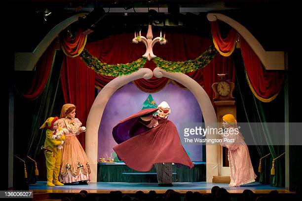 A scene from The Nutcracker by The Puppet Company Playhouse at Glen Echo Park in Glen Echo MD on on December 13 2011 The nonprofit Puppet Company has...