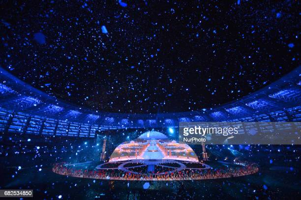A scene from the Opening Ceremony of the 4th Islamic Solidarity Games at Baku Olympic Stadium Baku welcome the world with a spectacular Opening...