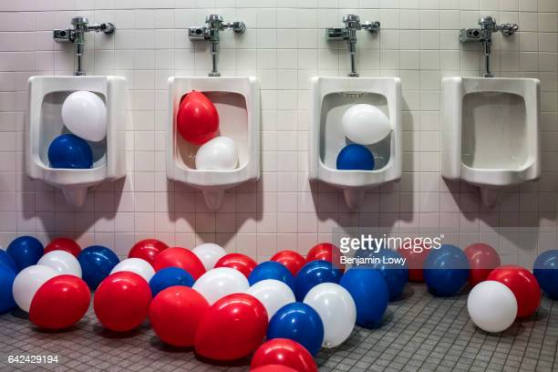 A scene from the Republican National Convention in Cleveland OH