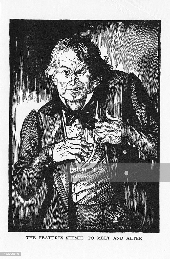 Scene from The Strange Case of Dr Jekyll and Mr Hyde by Robert Louis Stevenson, 1927. Artist: Edmund Joseph Sullivan : News Photo