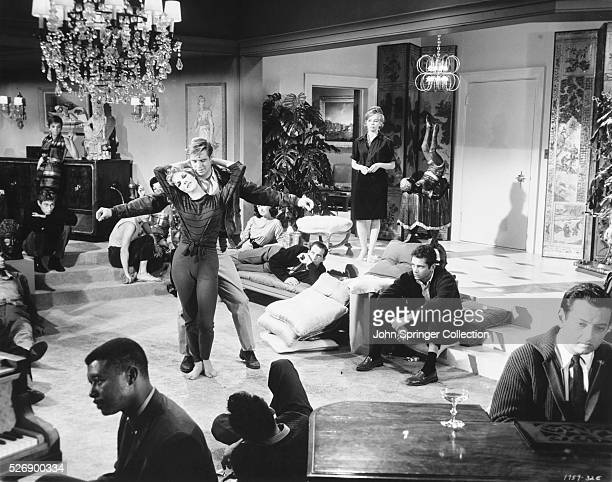 Scene from The Subterraneans movie, 1960.