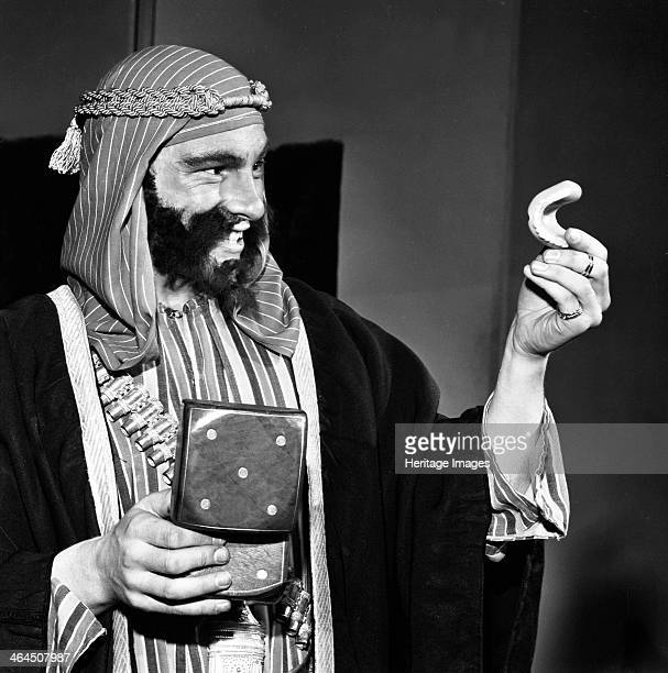 A scene from the Terence Rattigan play Ross Worksop College Nottinghamshire 1963 The play is a biographical play of TE Lawrence Some of the play is...