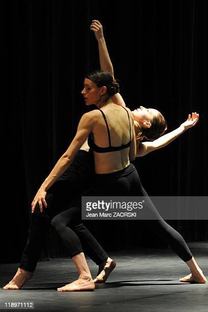 A scene from the triptych Shanghai Bolero a european creation built around the composition of Ravel's Bolero available in three forms of choreography...