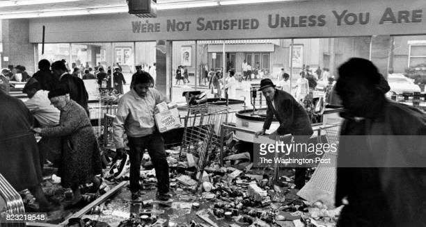 Scene from Washington DC riots