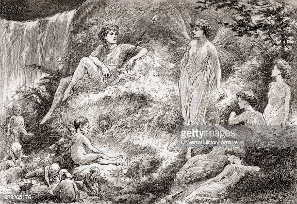 A scene from William Shakespeare's play A Midsummer Night's Dream Act II scene 1 Titania Set your heart at rest The fairy land buys not the child of...