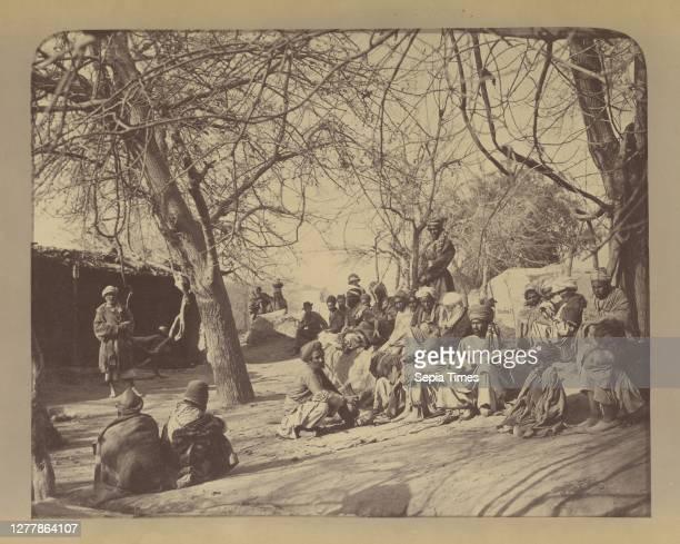 Scene in the City Jellalabad; John Burke ; Jalalabad, Afghanistan; 1879; Albumen silver print.