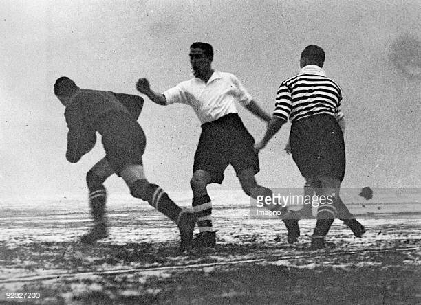 Scene of a match Arsenal vs Manchester London England Photograph January 30th 1937