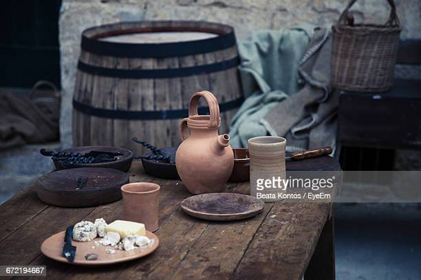 Scene Of Rural Traditional Kitchen