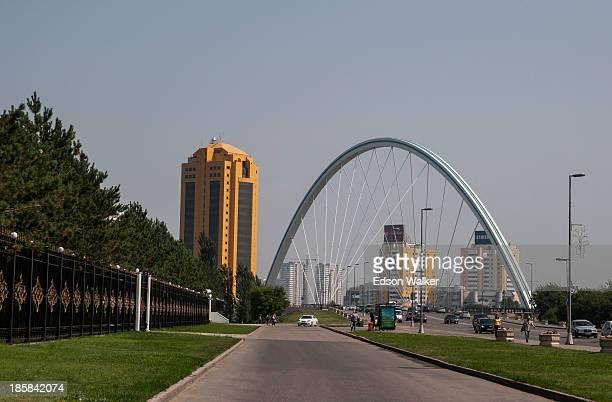 CONTENT] Scene of streets and bridge in Astana Kazakhstan July 2013