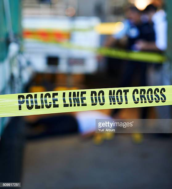 scene of the crime - gunshot wound stock photos and pictures