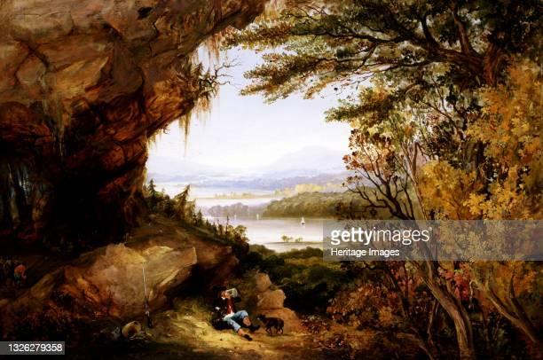 Scene on the Hudson , 1845. Artist James Hamilton.