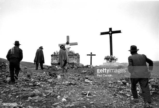 Scene the Bolivian Andes, La Paz, Bolivia, 1960s.
