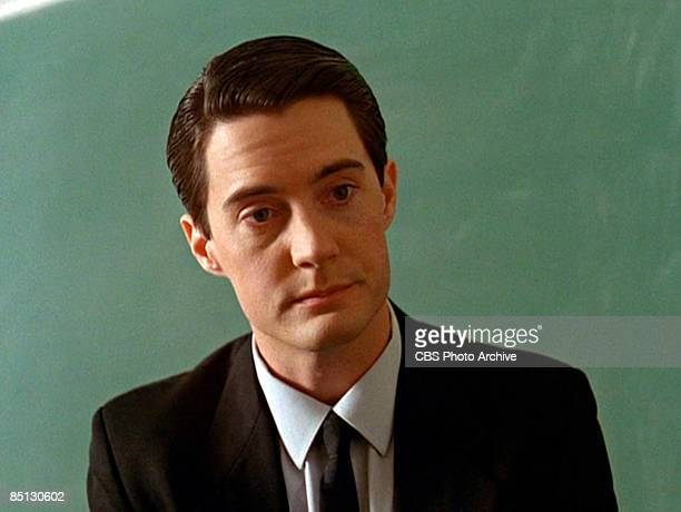 Scene with Kyle MacLachlan as Special Agent Dale Cooper from the pilot episode of 'Twin Peaks' 1990