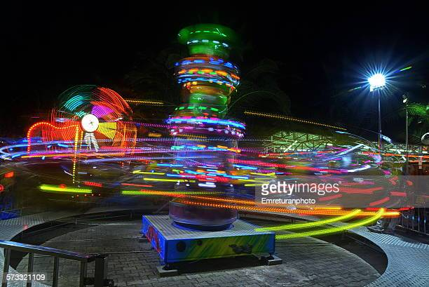 scenery from an amusement park - emreturanphoto stock pictures, royalty-free photos & images