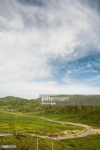 Scenery of Alpine Meadow