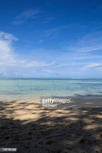 scenery of beach and sea, saipan, northern mariana islands, usa - saipan stock pictures, royalty-free photos & images