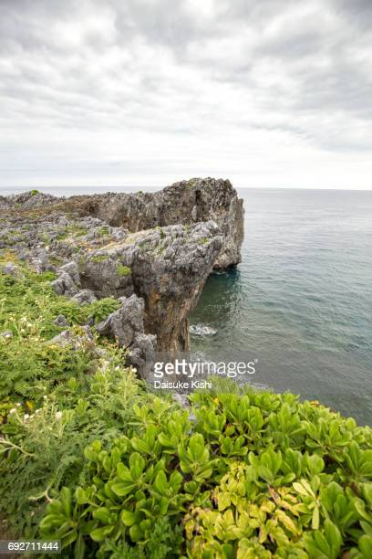 Scenery of Cape Hedo in Okinawa, Japan