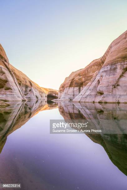 scenery of lake powell, utah, usa - lake powell stock pictures, royalty-free photos & images