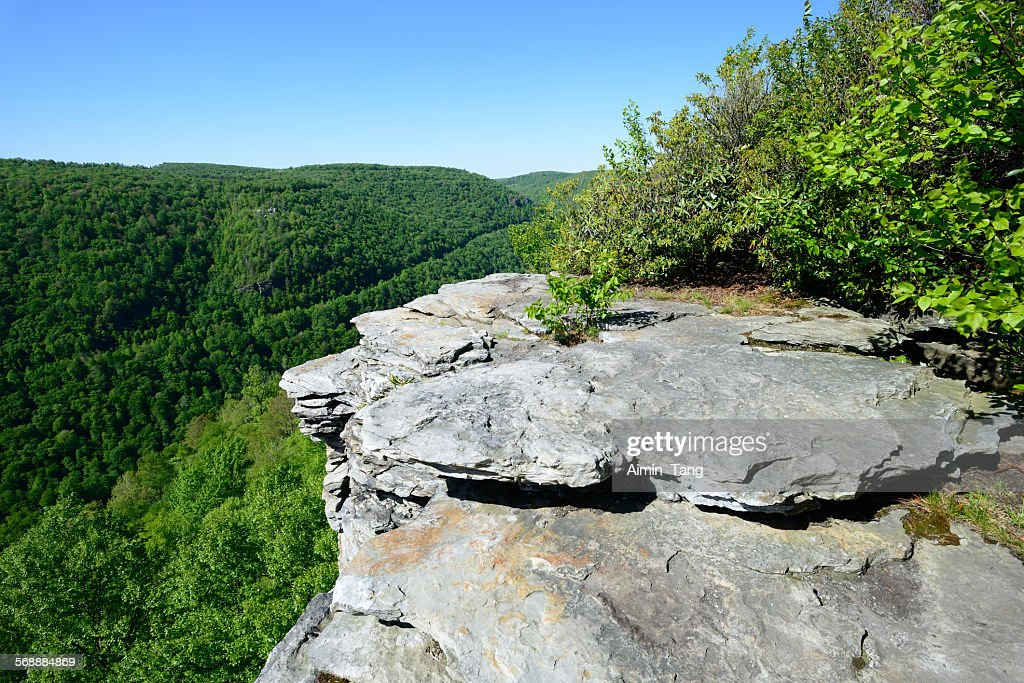 Scenery of Lindy Point Overlook : Stock Photo