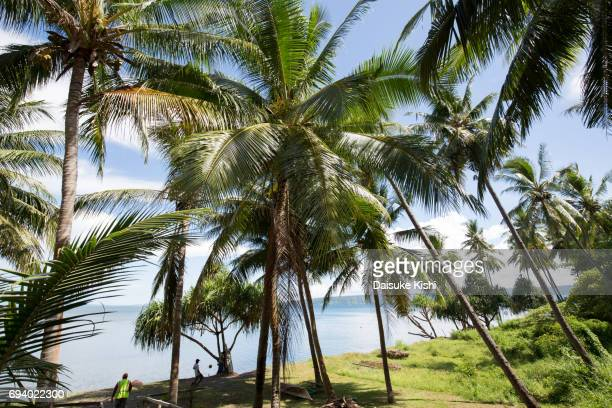 scenery of rabaul, papua new guinea - papua new guinea stock pictures, royalty-free photos & images