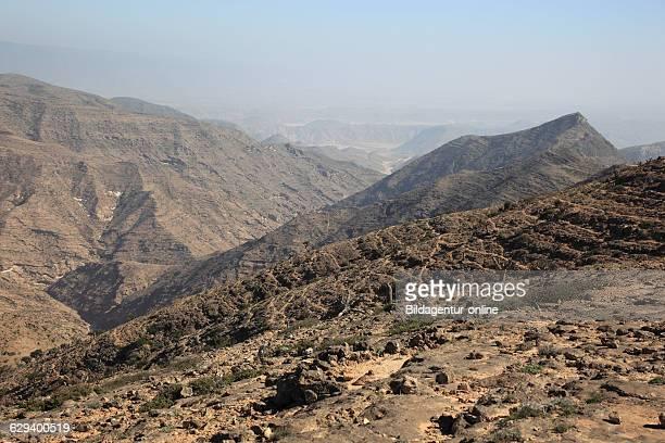 Scenery of the southern Dhofar Jabal alQamar Oman