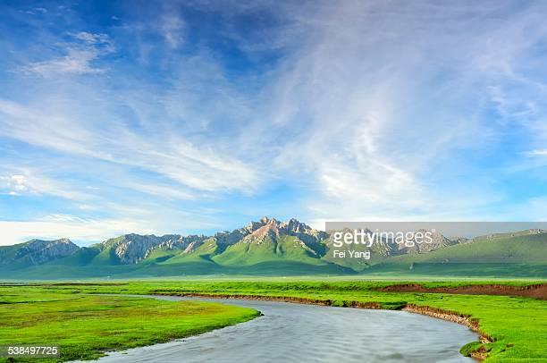 Scenery of the Tibetan Plateau