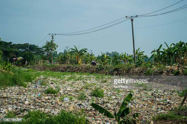 Scenery on the banks of Pisang Batu river in Bekasi West Java on Tuesday According to reports the Indonesian Plastic Industry Association and the...