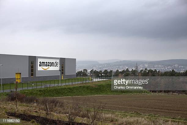 Scenes around Amazon's new Logistics center for Amazonde Bad Hersfeld Germany on November 9 2010 The biggest in Europe with over 100000 square meters...