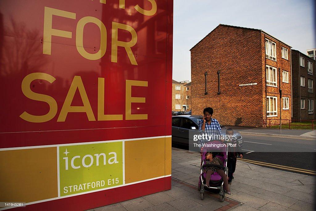 6e6d84a6a92 Carpenters Estate Stratford London UK   News Photo