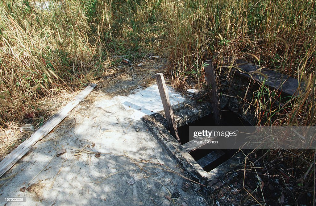 Scenes at the ruins of Pol Pot, a now abandoned house and hideout in the jungles of Anlong Veng, close to the Thai border. Also maintained is a bomb-proof underground bunker. .