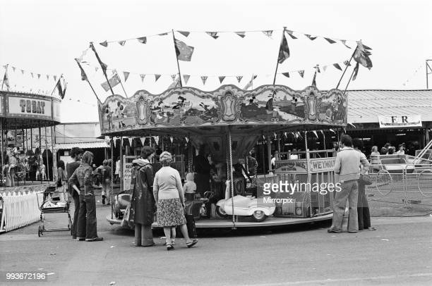 Scenes at Weymouth Fairground Dorset 14th July 1977