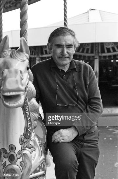 Scenes at Weymouth Fairground Dorset Pictured is the fairground's owner James Chipperfield 14th July 1977