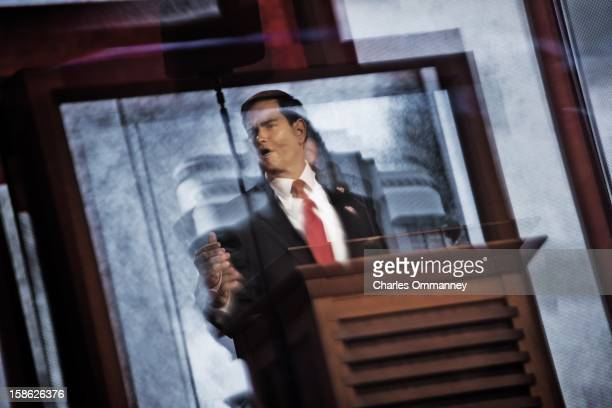 Scenes during the Republican National Convention at the Tampa Bay Times Forum on August 30 2012 in Tampa Florida Today is the third and last full...