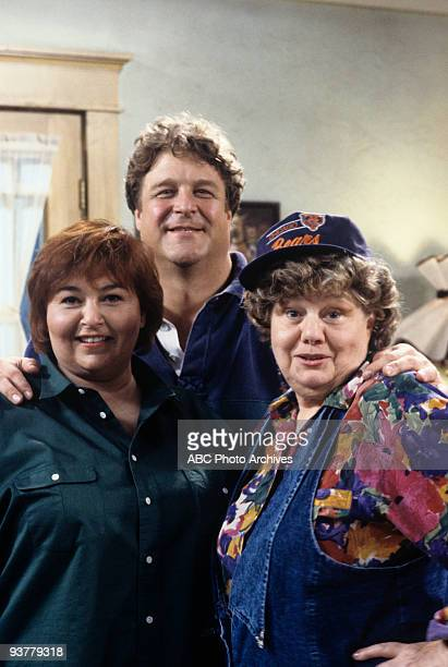 ROSEANNE 'Scenes from a Barbecue' Season Three 5/7/91 Roseanne Barr John Goodman Shelley Winters on the ABC Television Network comedy 'Roseanne'...